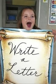 National write a letter week