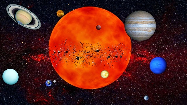 Planets and Their Moons - Pics about space