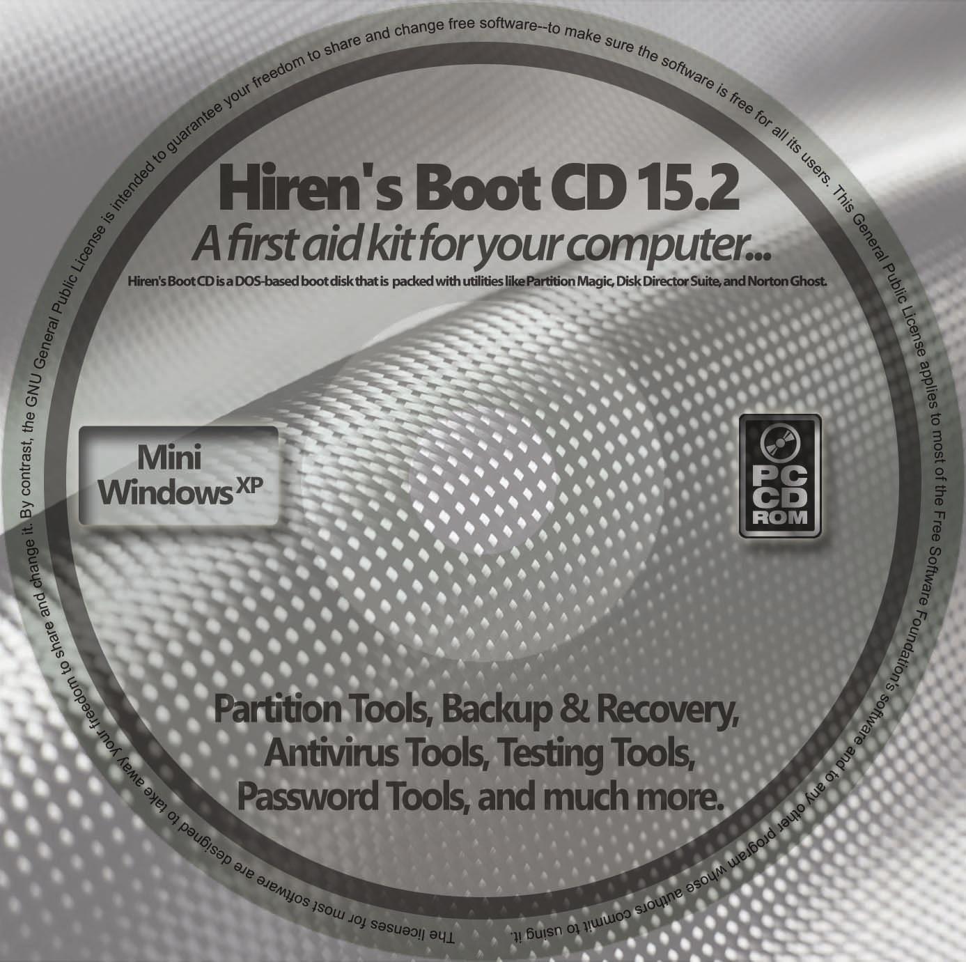 hirens boot cd 15.2 download