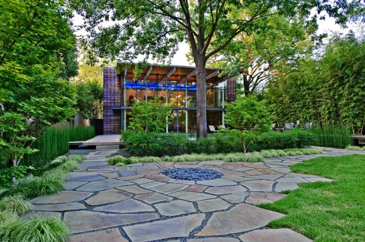 Contoh Taman Minimalis Samping Rumah