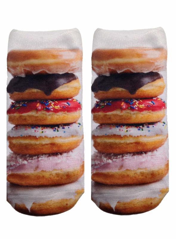 stacked donut socks