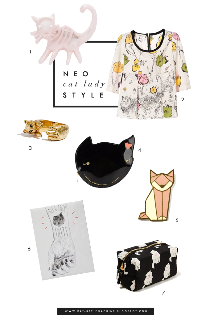 Stylish finds with adorably cute cats