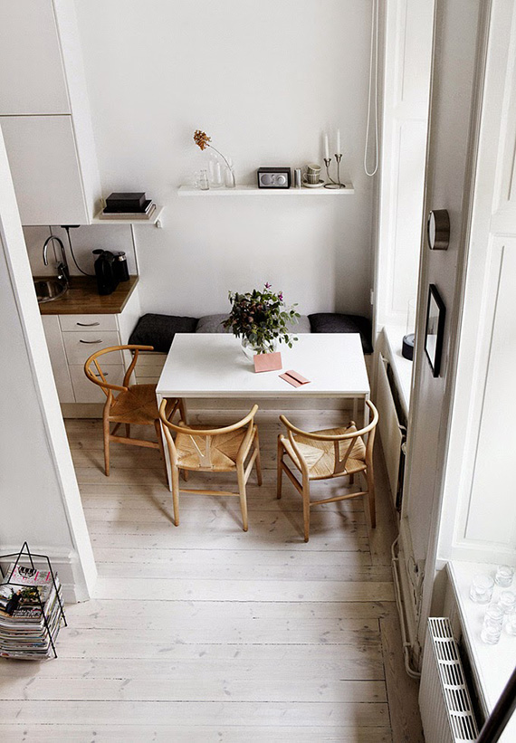 Scandinavian kitchen via Fantastic Frank