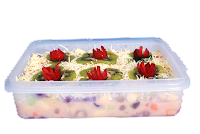 salad buah redberry kuliner