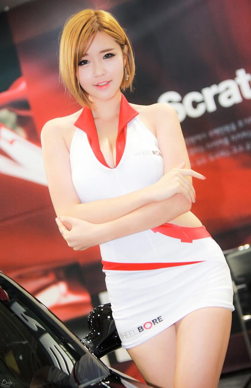 6 Choi Byeol Ha - Seoul Auto Salon 2014 - very cute asian girl-girlcute4u.blogspot.com