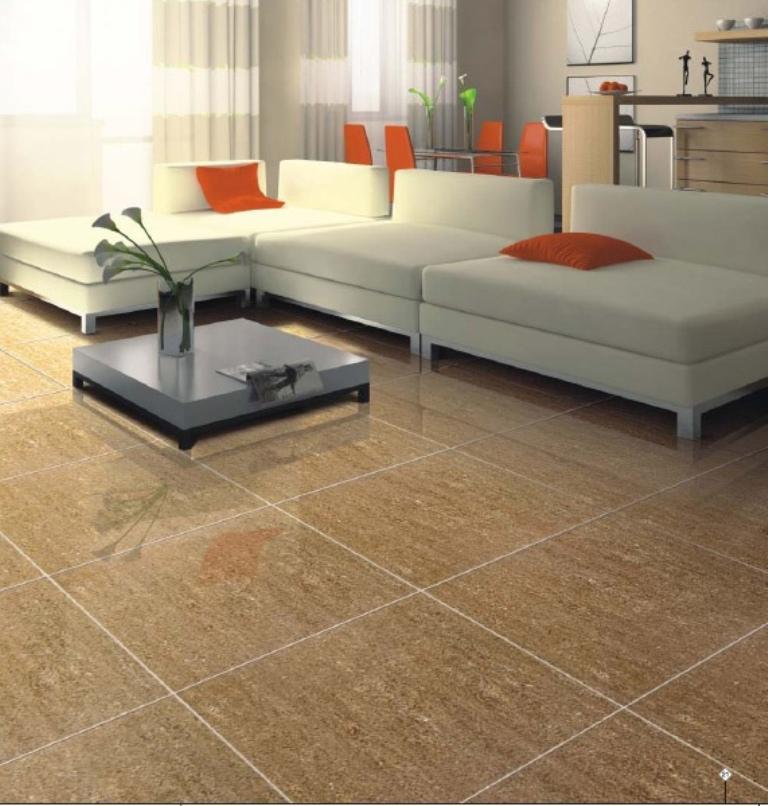 Flooring vitrified tiles