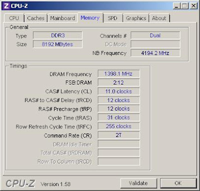 Overclocking Corsair Dominator GT CMGTX7 DDR3 Memory picture 4