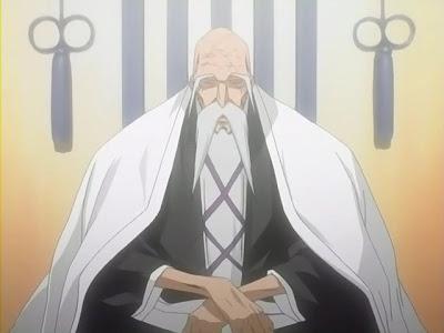1ª Aventura - Ameaça Fantasma no Santuário - ( Final ) Shigekuni-genryuusai-yamamoto-do-bleach-2