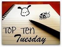 Top Ten Tuesday: Bookish Websites / Organizations / Apps