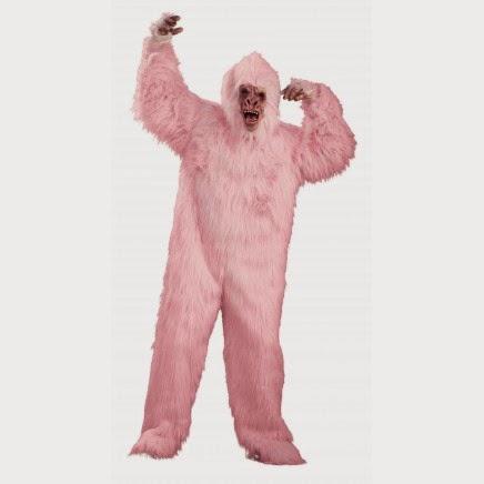 Disfraz Gorila Rosa