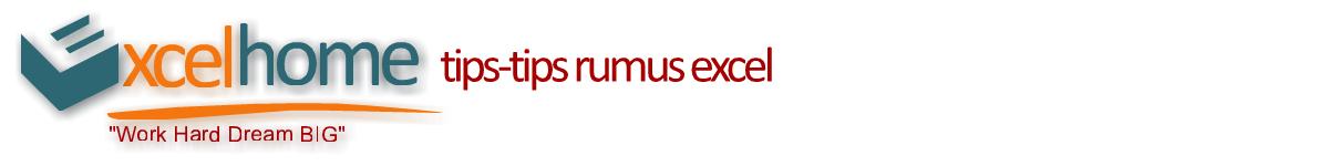 Tips-tips Rumus Excel
