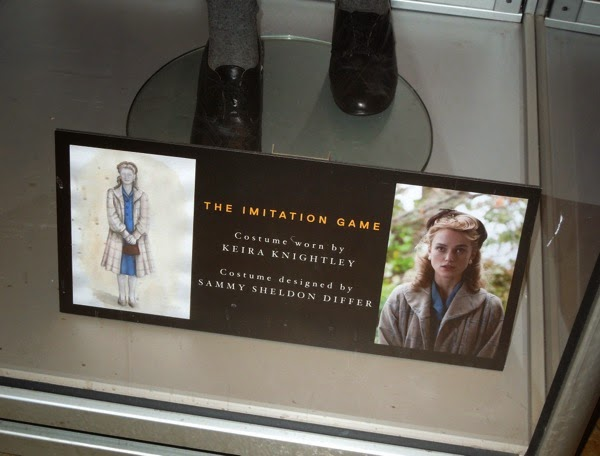 Imitation Game film costume display
