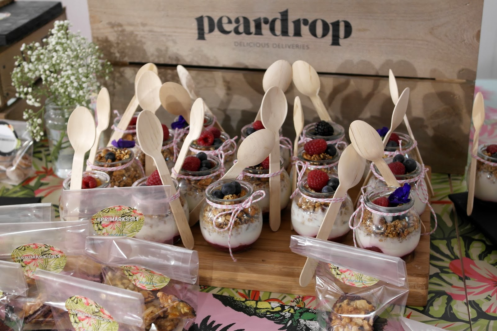 Peardrop delicious deliveries @ Primark spring14 pressday London PrimarkSS14