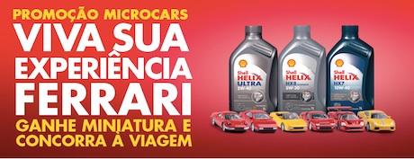 Participar da promoção Shell Microcars