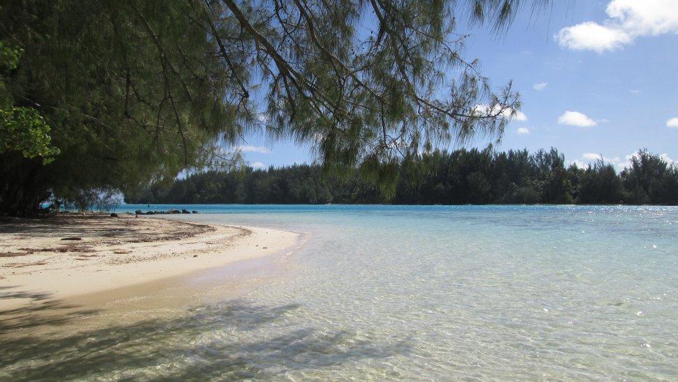 Connu Moorea: La plage du Club Med à Hauru VB27