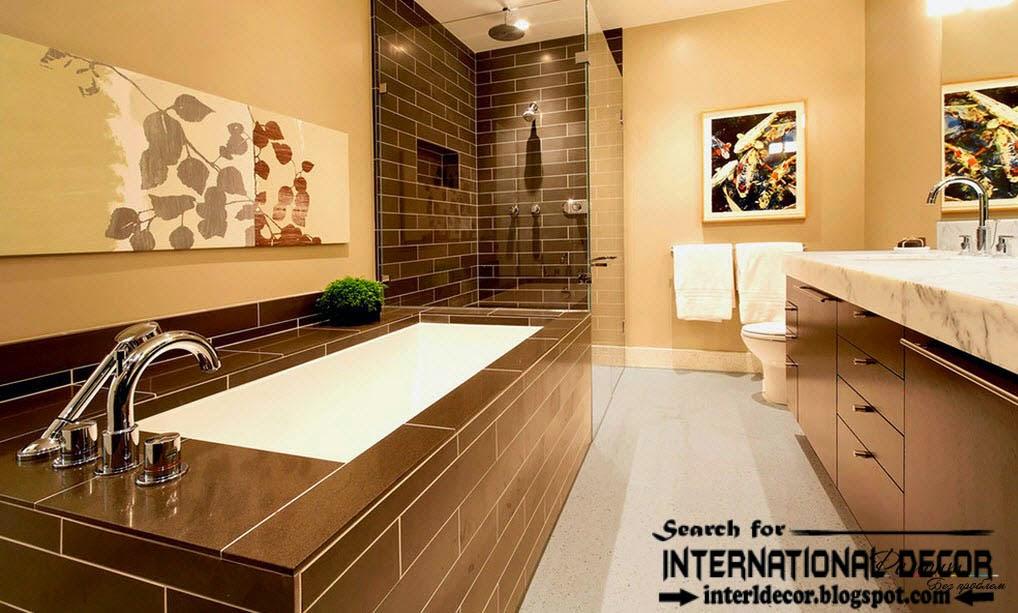 latest beautiful bathroom tiles designs ideas 2015