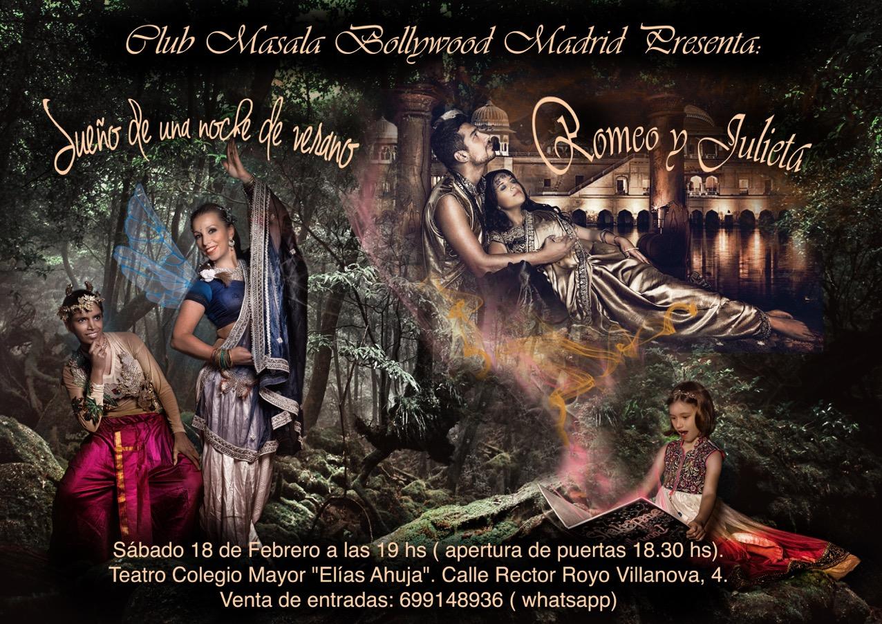 """""""Sueño de una noche de verano"""" y """"Romeo y Julieta"""" al estilo Bollywood"""