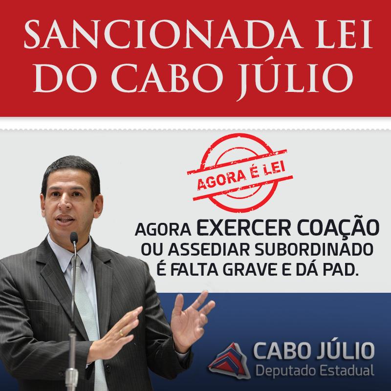 LEI DEPUTADO CABO JÚLIO