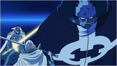 คุมะวาร์ปตัวเองเข้าขวางการต่อสู้ของเรย์ลี่กับคิซารุ