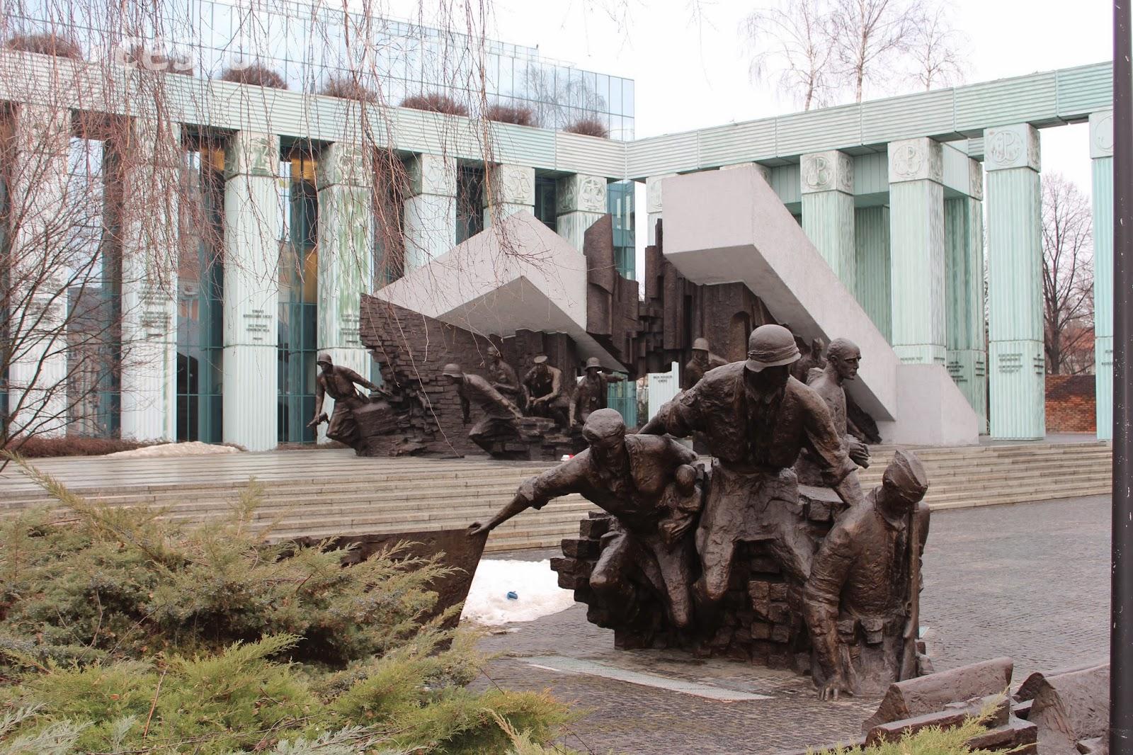 Pomník Varšavského povstání