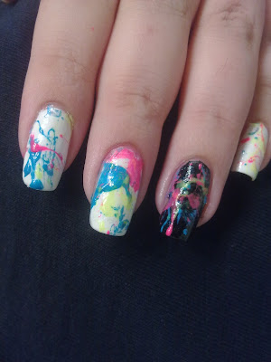 nail art splatter 02
