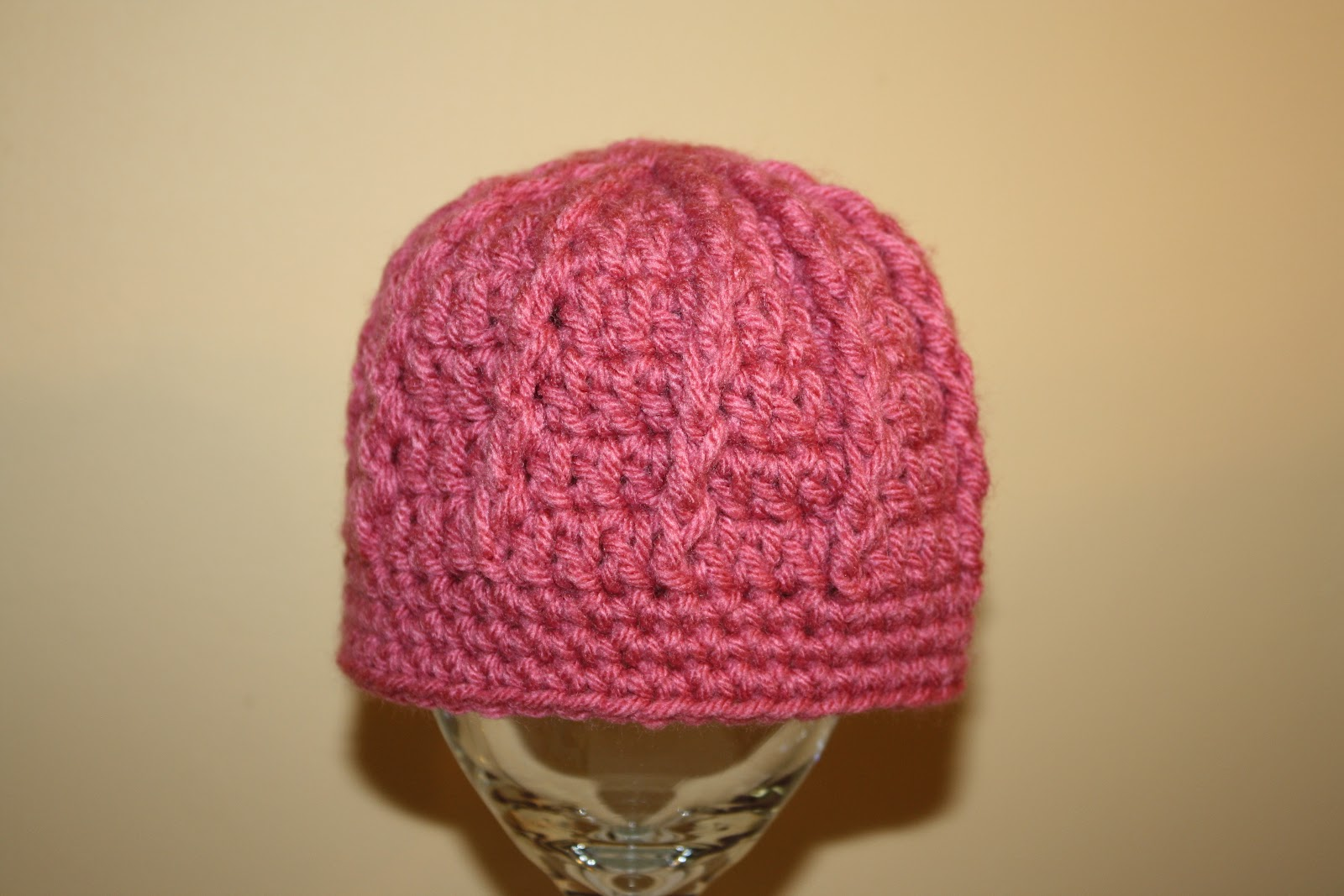 Crochet Beanie Pattern Ribbed : You Drive Me CrAfTy: RIBBED CROCHET BEANIE