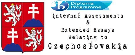 Free essays about Czechoslovakia