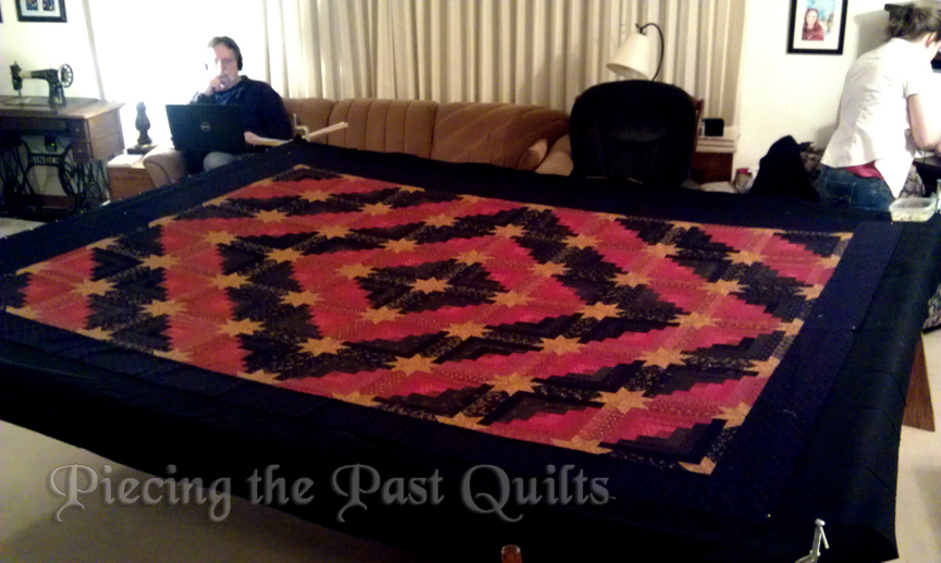 Piecing the Past Quilts: October 2015 : quilt basting frame - Adamdwight.com