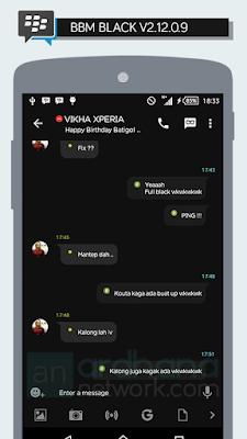 Preview BBM Black V2.12.0.9