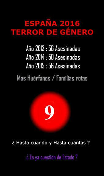 ESPAÑA MATA A SUS MUJERES
