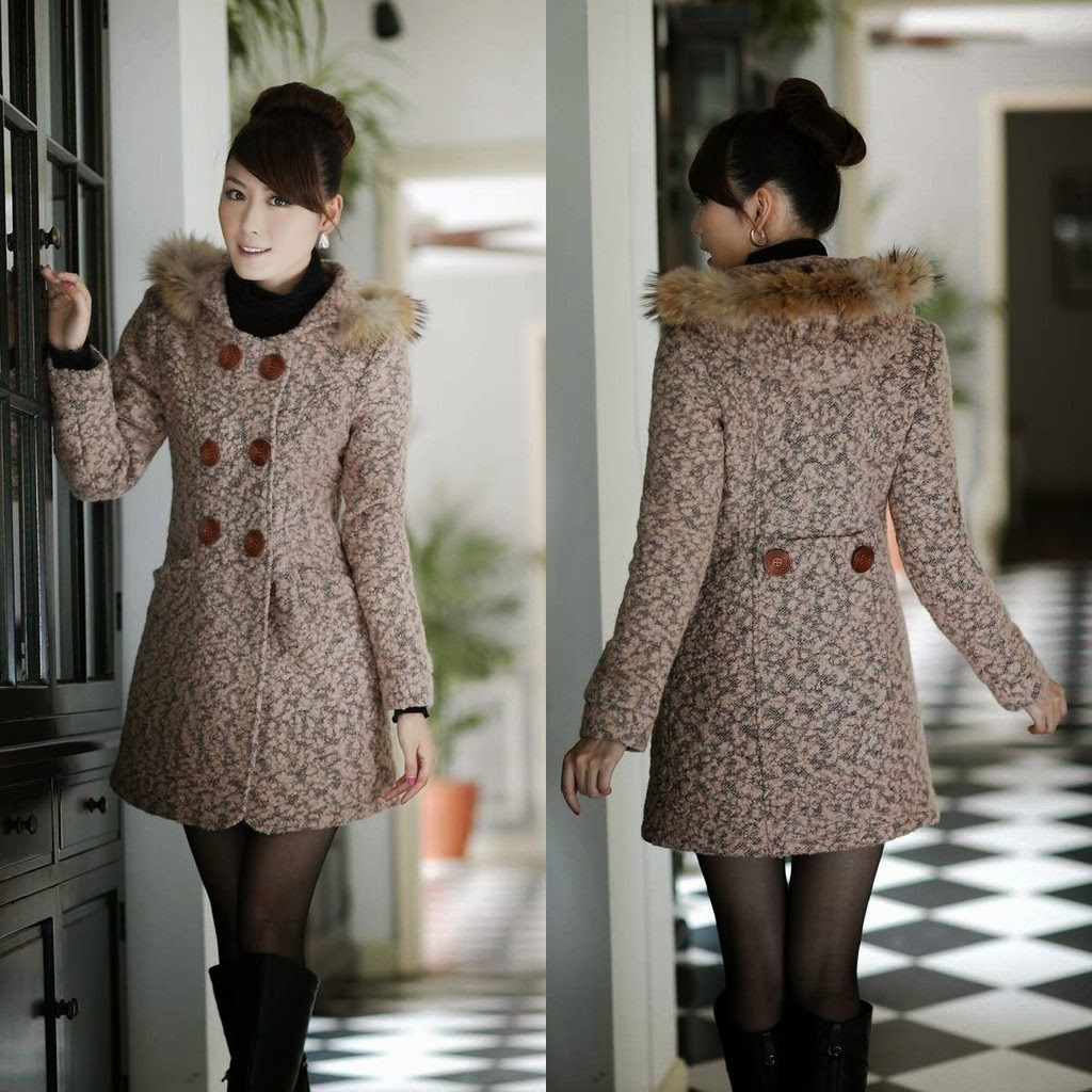 Fashion winter coats for women