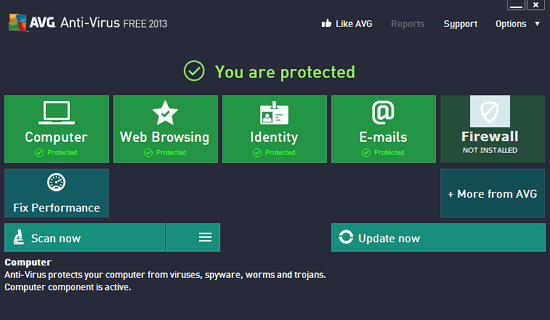 free download avg antivirus 2013