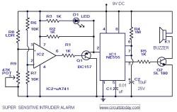 Super Sensitive Intruder Alarm A 2 Z Gk