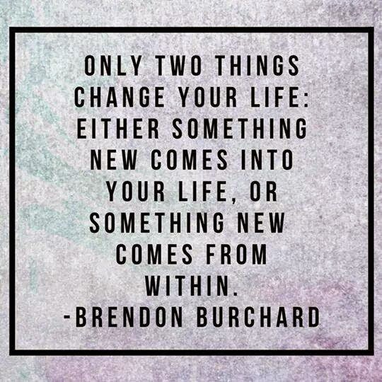 a thing that change your life Once you give up the chase, the right things, the things you want in your life right now, have a chance to catch up to you and you can have what you really want give it a try and see if it happens for you, at the very least you won't be wasting time on the wrong things anymore.