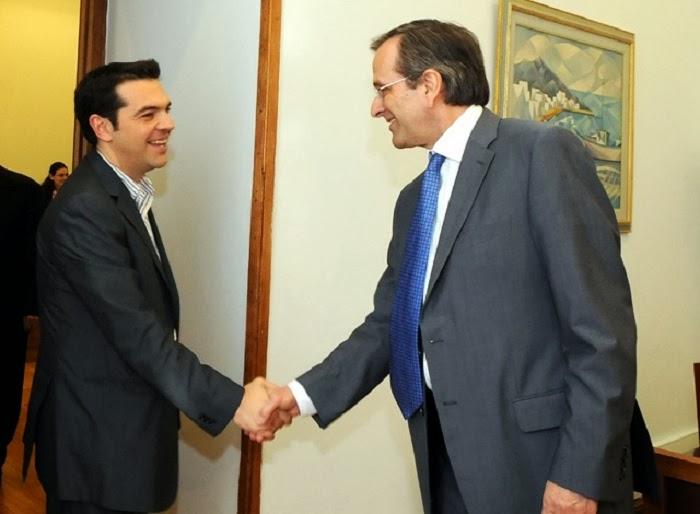 ANTINEWS: Πιο κοντά από ποτέ η συγκυβέρνηση Ν.Δ. - ΣΥΡΙΖΑ