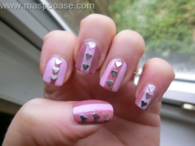 Valentines Nailart OPI Mod About You