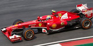 Gambar Mobil Balap F1 Ferrari 04