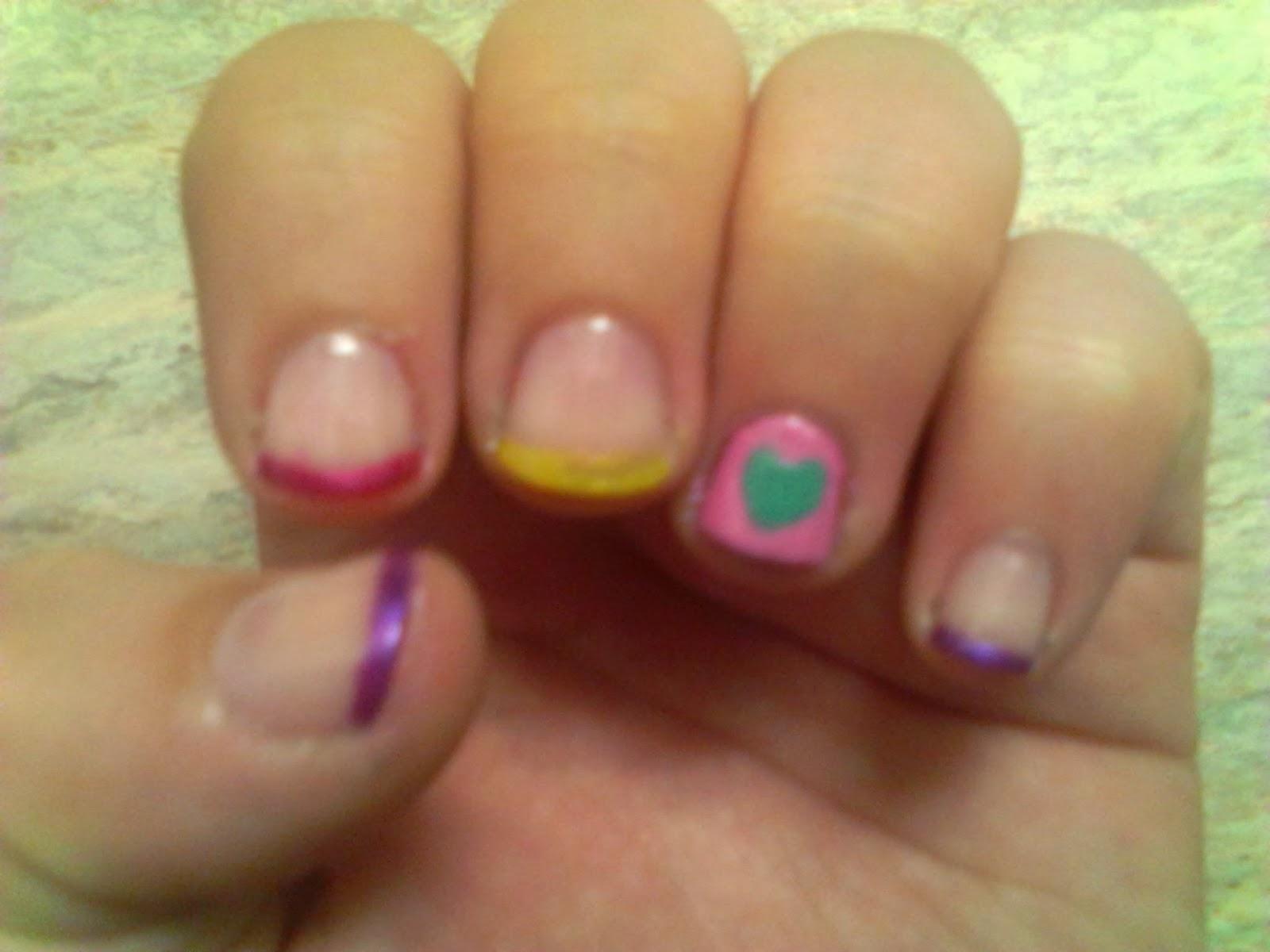 Nerd Girls Nail Art: Princess Cadance!