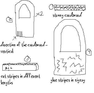 making cardboard puppet theatre instructions