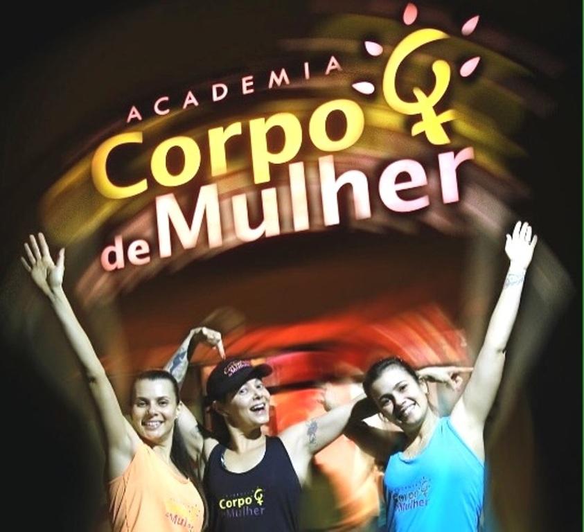 ACADEMIA CORPO DE MULHER