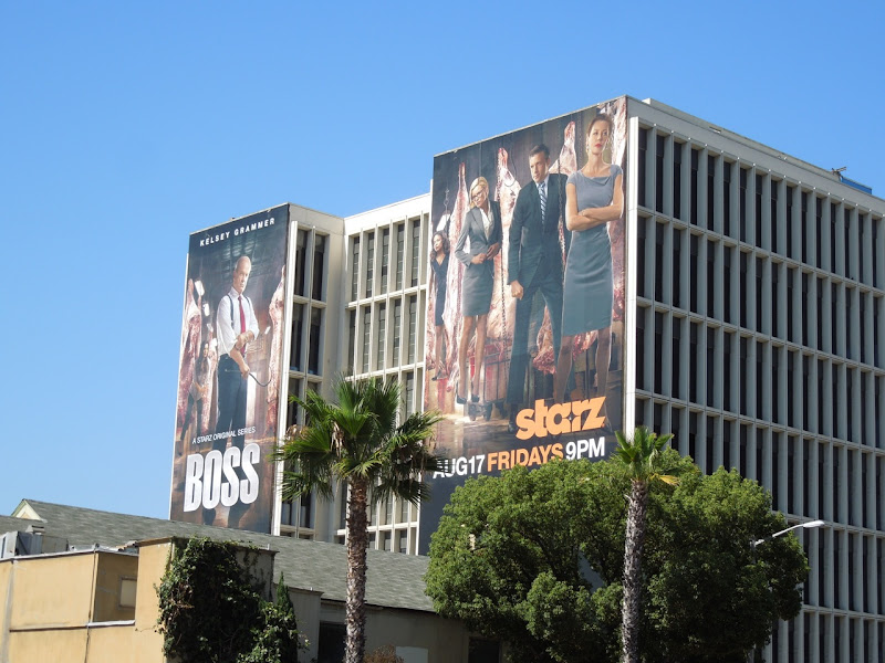 Boss season 2 billboards