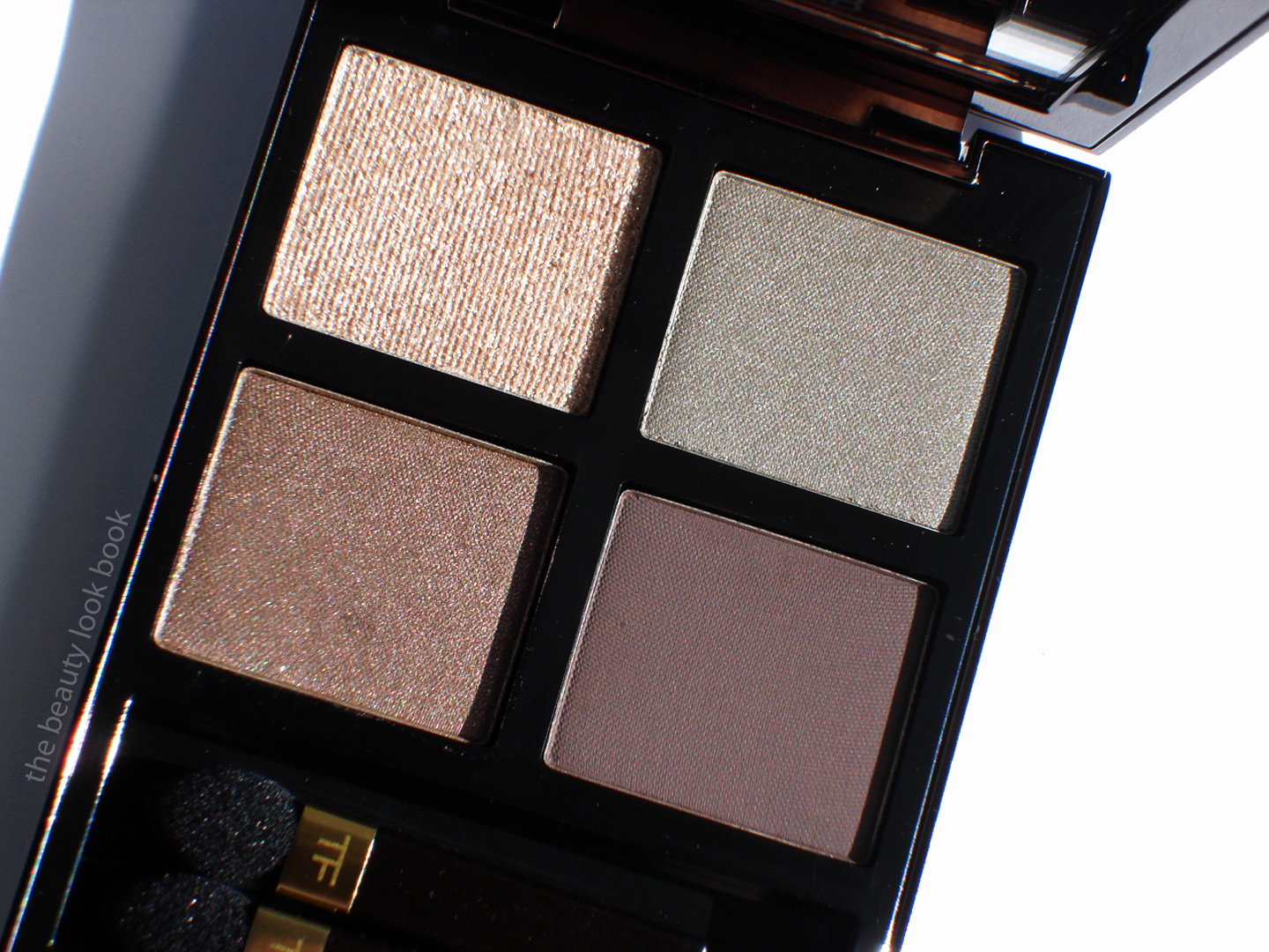 Tom Ford Silvered Topaz Eye Color Quad The Beauty Look Book