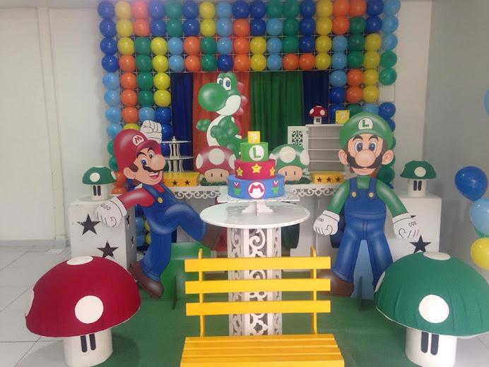 Super Mario provençal com tela de PDS