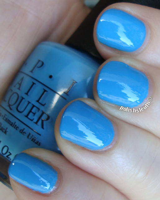 OPI's No Room For The Blues