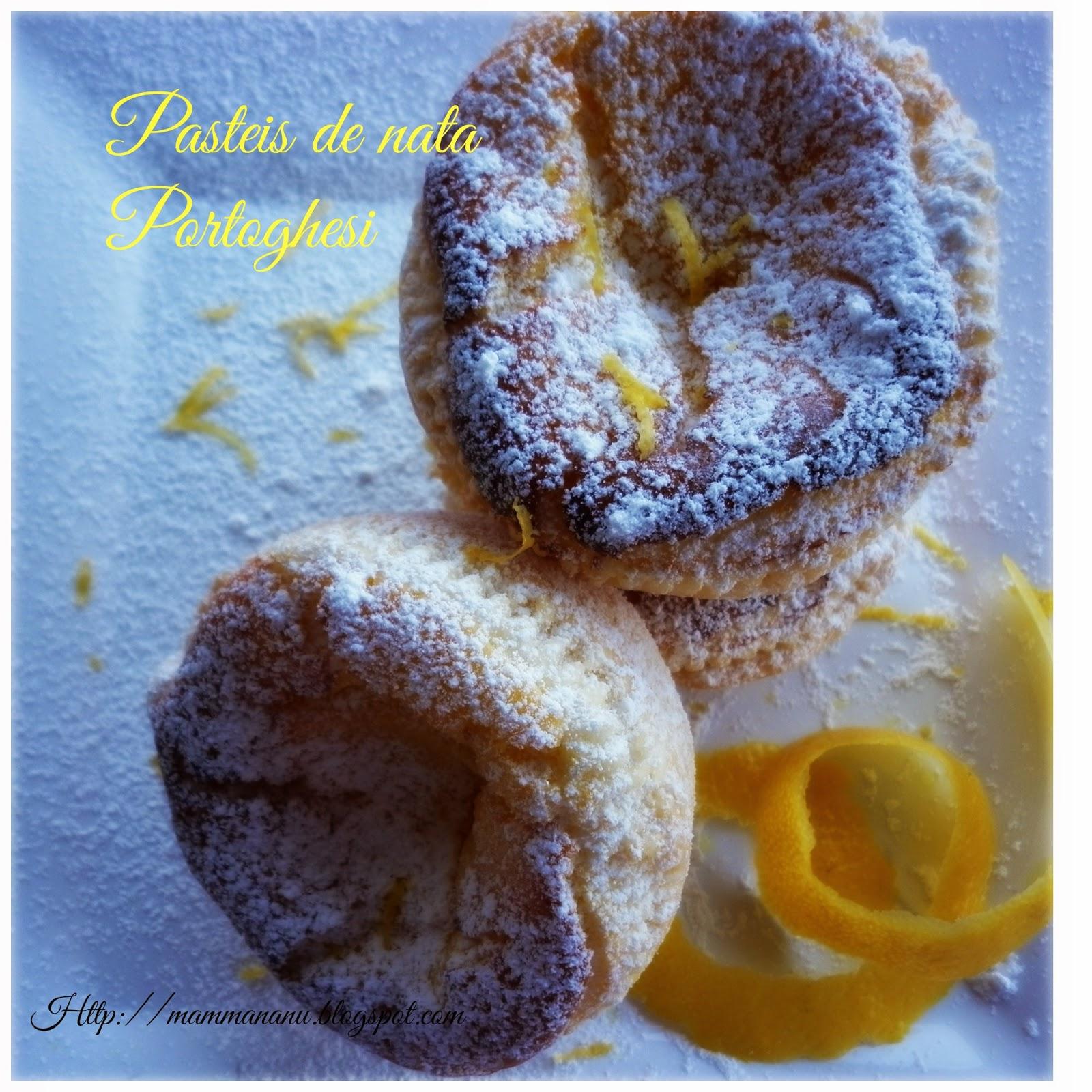 pasteis de nata portoghesi