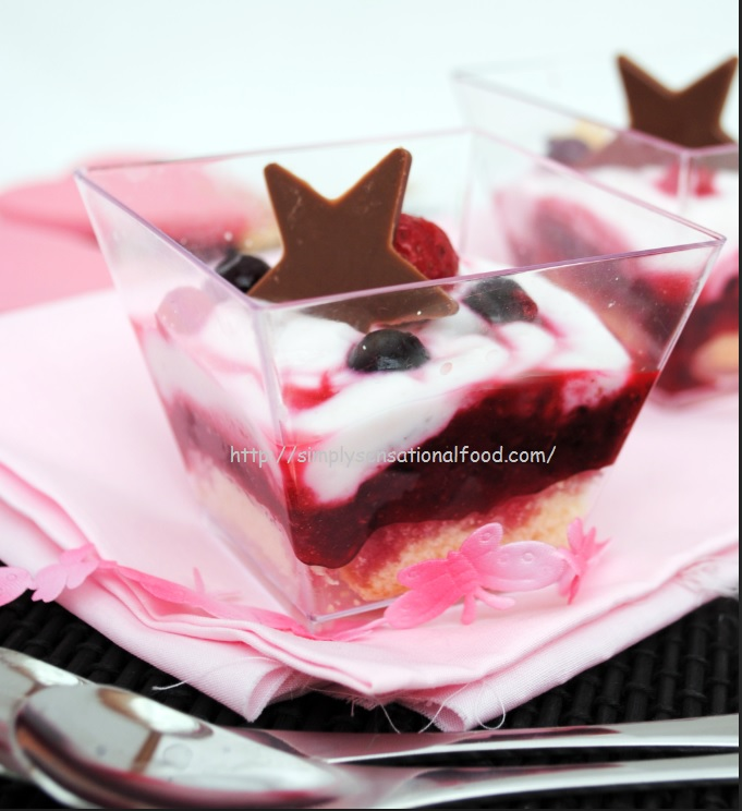 Chocolate Berry Trifle Cake Recipe