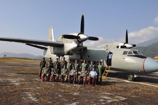 IAF personnels at newly opened ALG at Arunachal Pradesh
