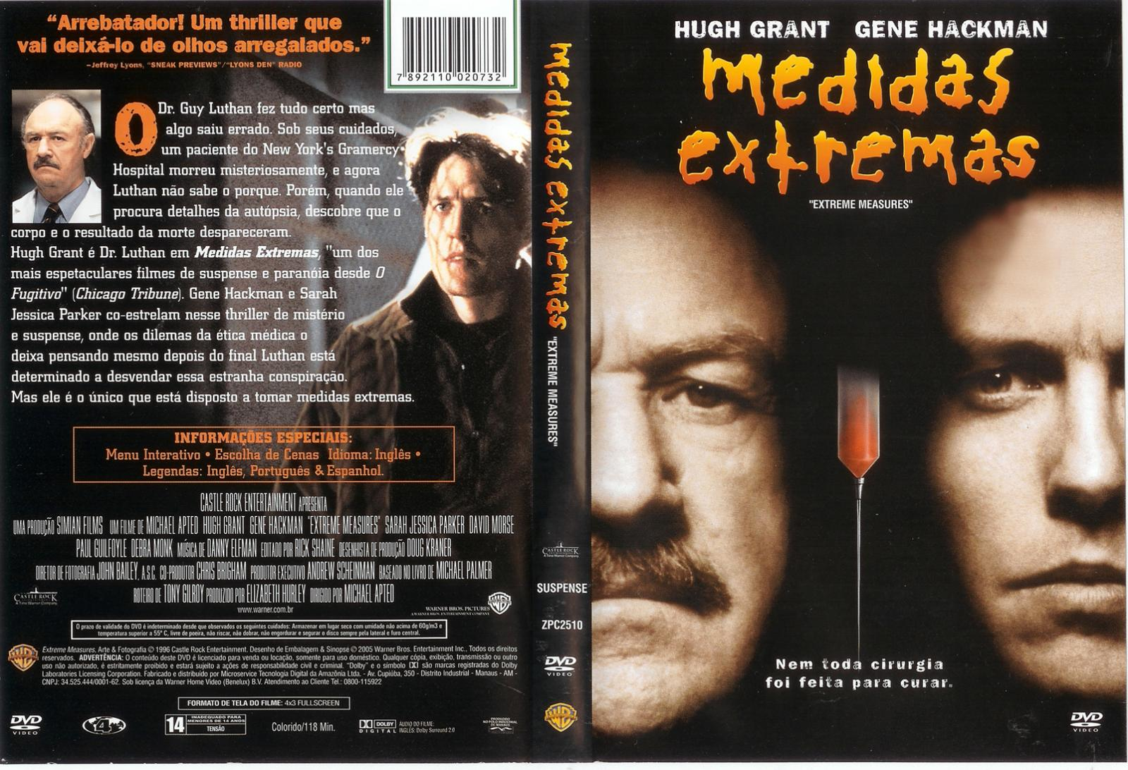 Dvd Medidas Extremas Medidas Extremas