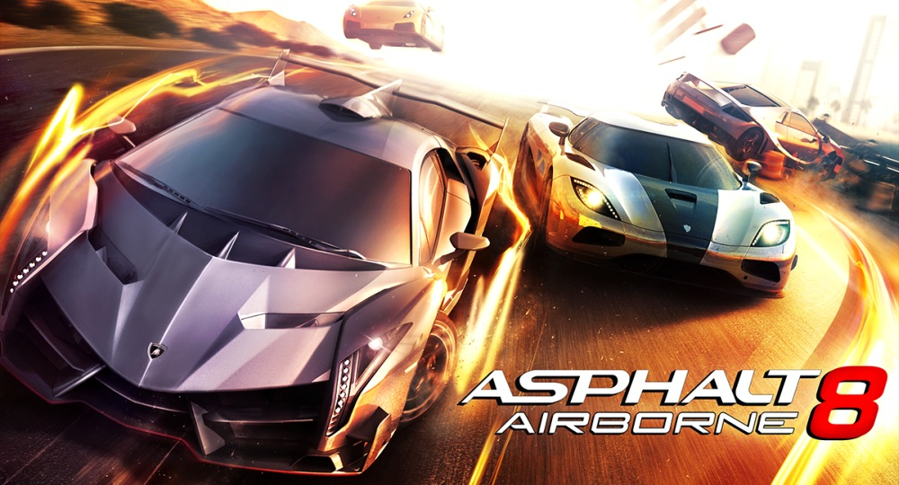 Download Asphalt 8 Airborne v1.0.1 apk and sd data (obb) for your