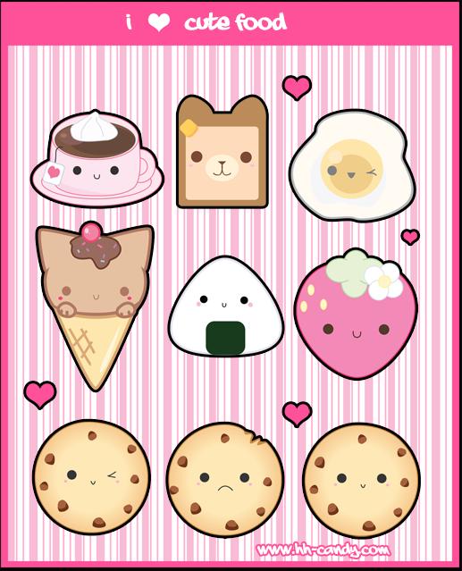 small food wallpapers: Kawaii: Octubre 2012